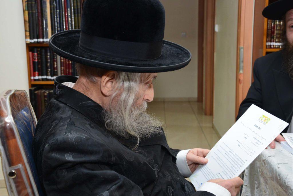 """רגאב""""ד קורא את המלצת גדולי ישראל לארגון שומרי שביעית"""