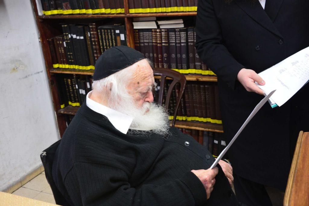הרב קניבסקי בדיון על שמיטה ושביעית