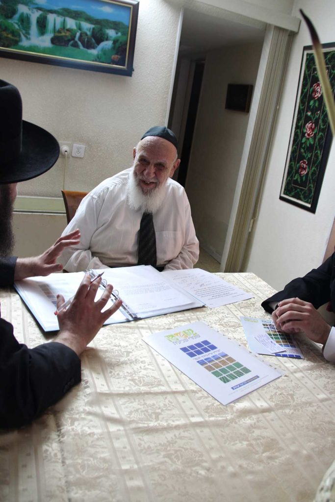 הרב שלום כהן בדיון על הלכות שביעית
