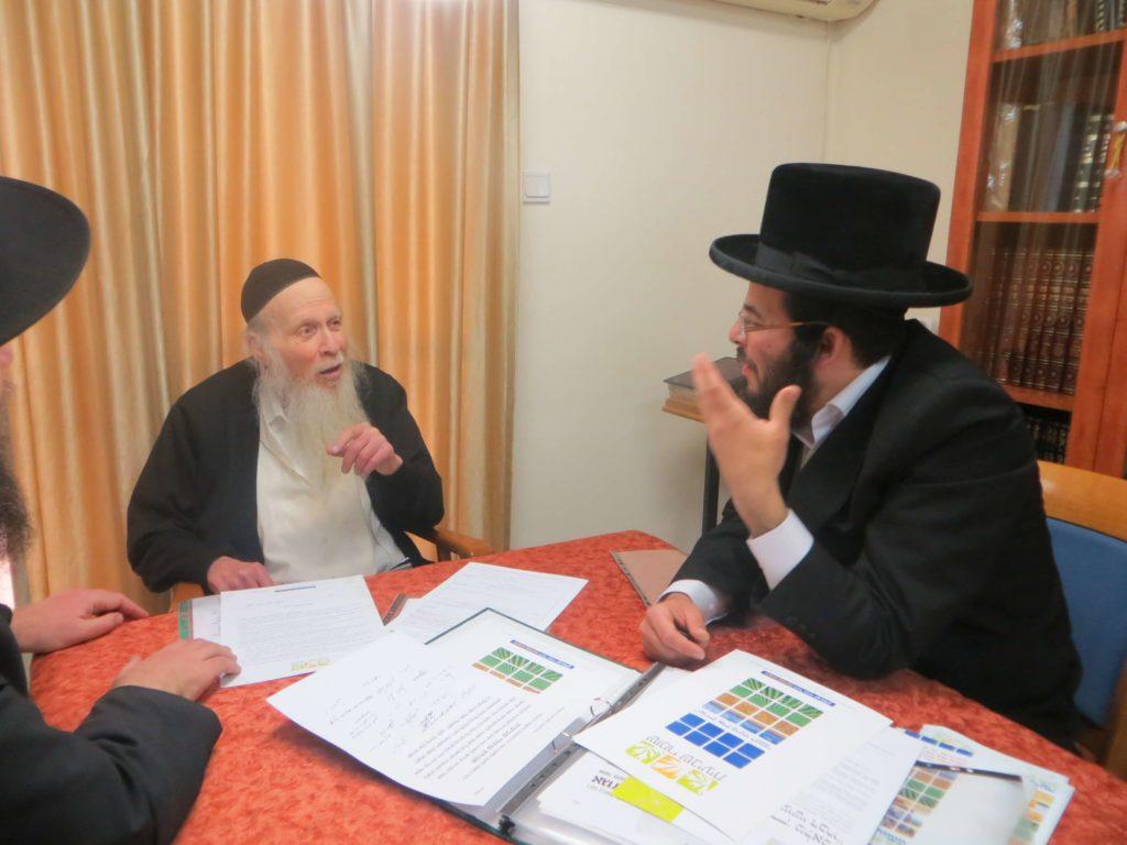 הרב פינקל בדיון על דיני שביעית