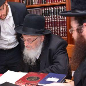 הרב מאיר צבי ברגמן קורא לאגודת שמיטה