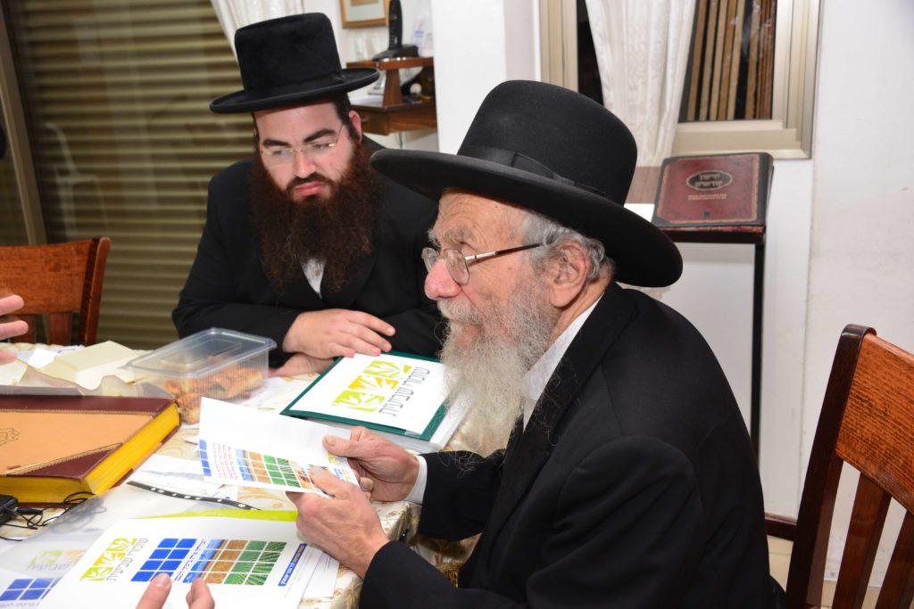 הרב יעקב אדלשטיין בשיחה על שמיטה