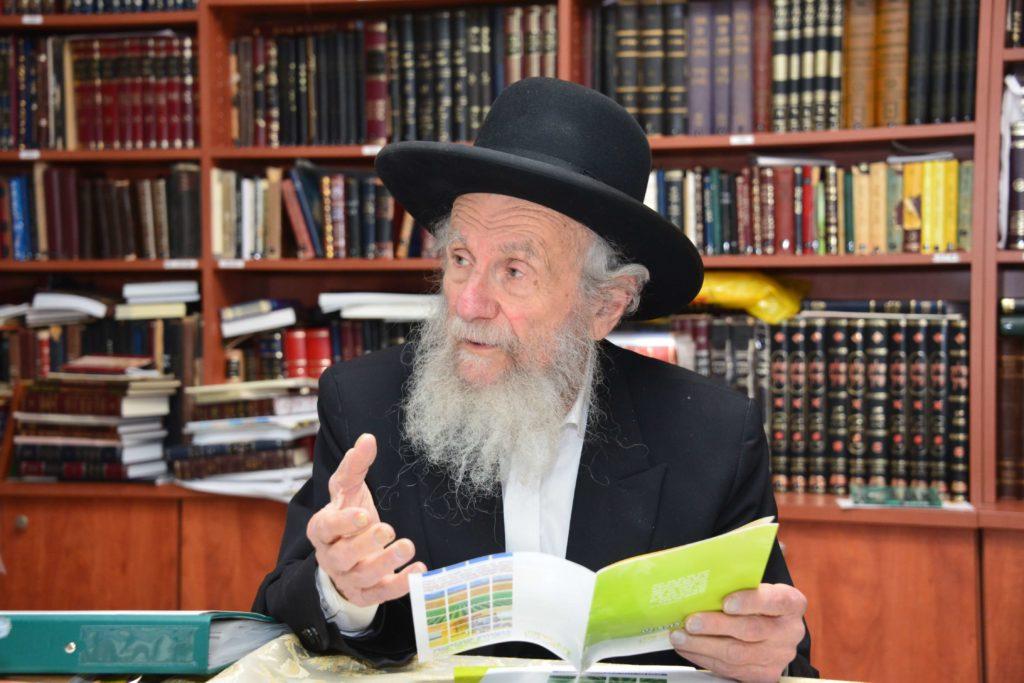 הרב יעקב אדלשטיין בשיח על דיני שמיטה
