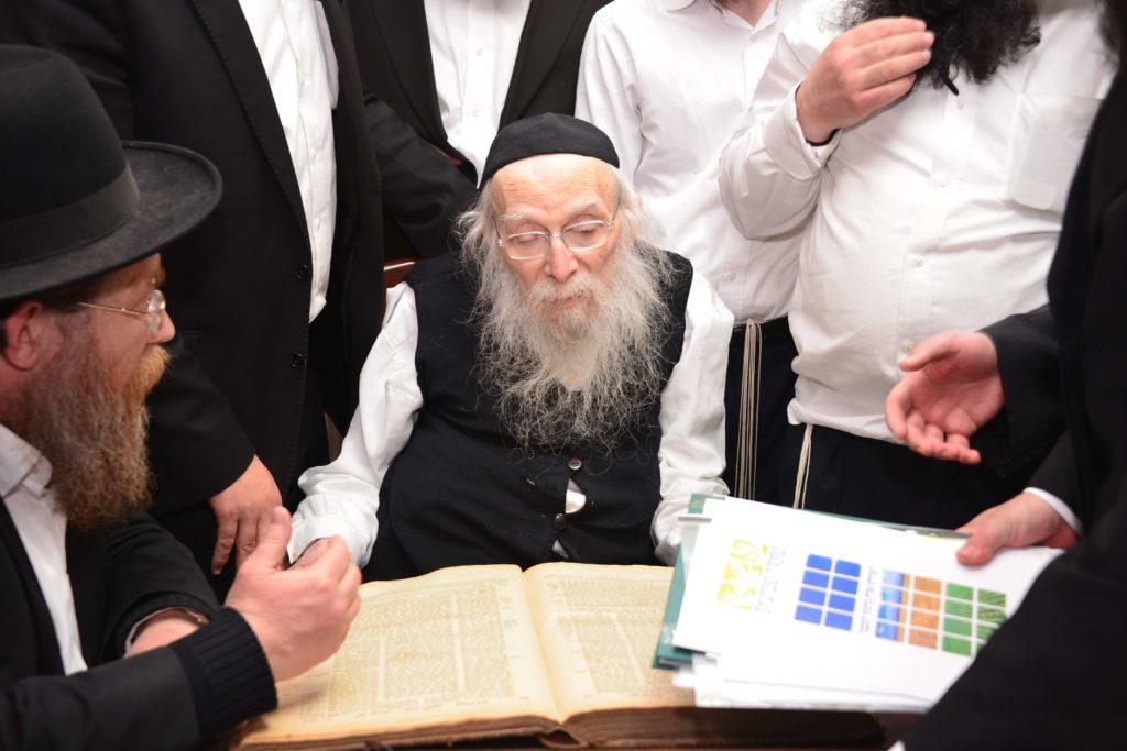 הרב קרליץ בדיון בהלכות שביעית