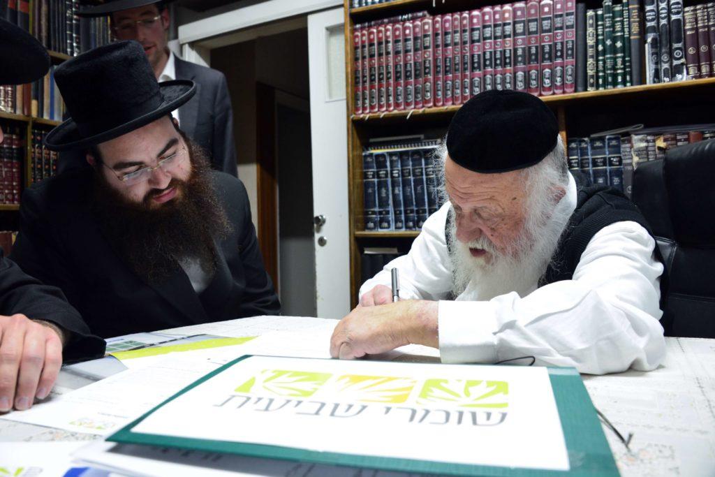 הרב פוברסקי מצרף את חתימתו לקריאת גדולי ישראל לקנות קרקע לשמיטה